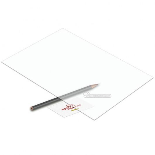 Plancha transparente de PVC 194 x 320 mm - Elige el grueso que quieras - Artisan 2602