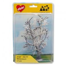 1 Arbol nevado de 17 cm - Miniatura Heki 2107 blister