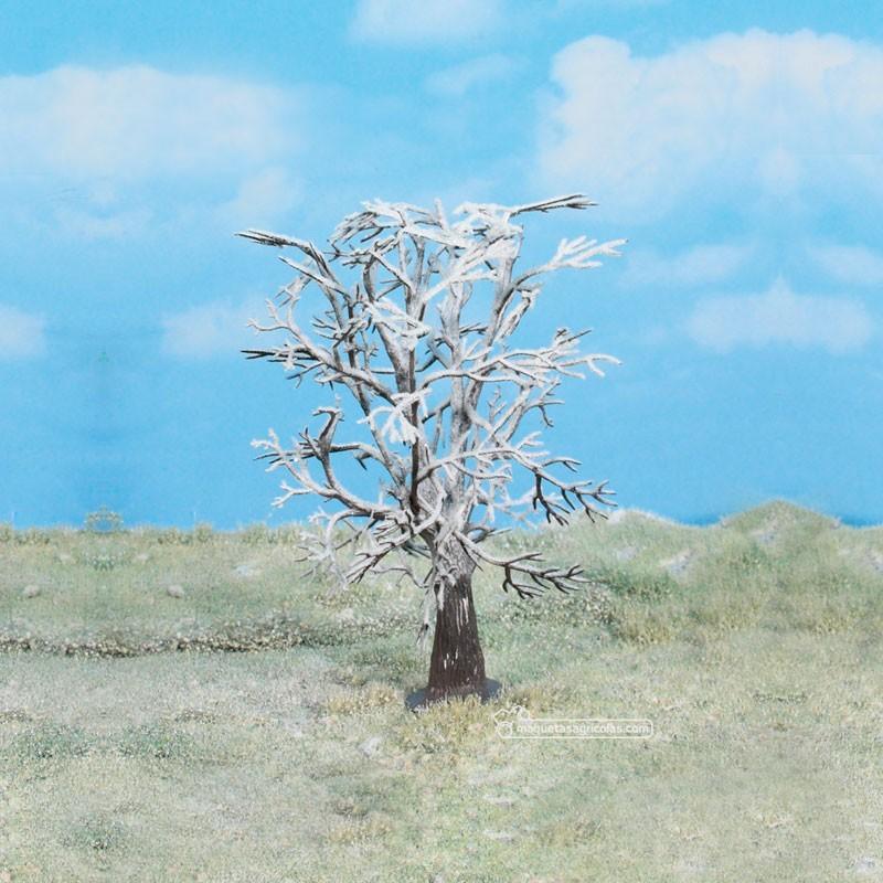 1 Arbol nevado de 17 cm - Miniatura Heki 2107
