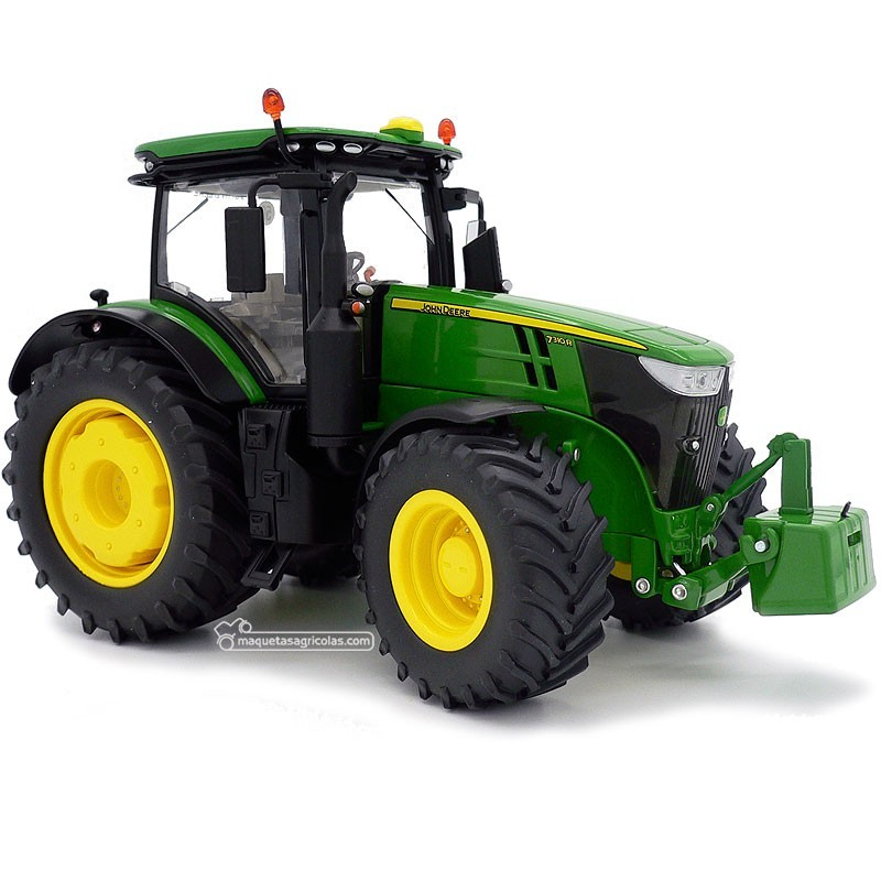 Tractor John Deere 7310R - Miniatura 1:32 - Wiking 077837