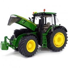 Tractor John Deere 7310R - Miniatura 1:32 - Wiking 077837 perfil