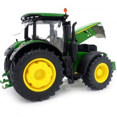 Tractor John Deere 7310R - Miniatura 1:32 - Wiking 077837 lateral capó