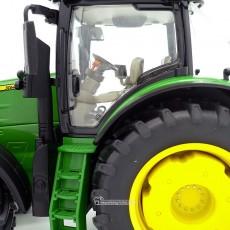Tractor John Deere 7310R - Miniatura 1:32 - Wiking 077837 escaleras