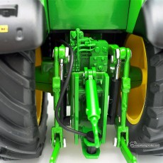 Tractor John Deere 7310R - Miniatura 1:32 - Wiking 077837 enganche posterior