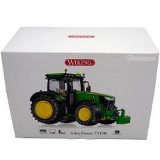 Tractor John Deere 7310R - Miniatura 1:32 - Wiking 077837 caja