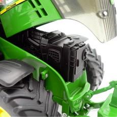 Tractor John Deere 7310R - Miniatura 1:32 - Wiking 077837 capó motor