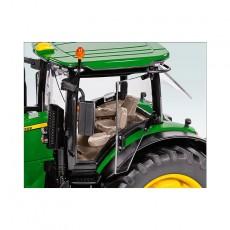 Tractor John Deere 7310R - Miniatura 1:32 - Wiking 077837 detalle cabina