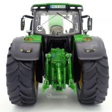 Tractor John Deere 6250R - Miniatura 1:32 - Wiking 077836 posterior
