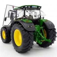 Tractor John Deere 6250R - Miniatura 1:32 - Wiking 077836 cabina abierta