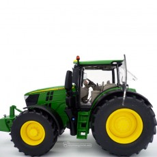 Tractor John Deere 6250R - Miniatura 1:32 - Wiking 077836 lateral