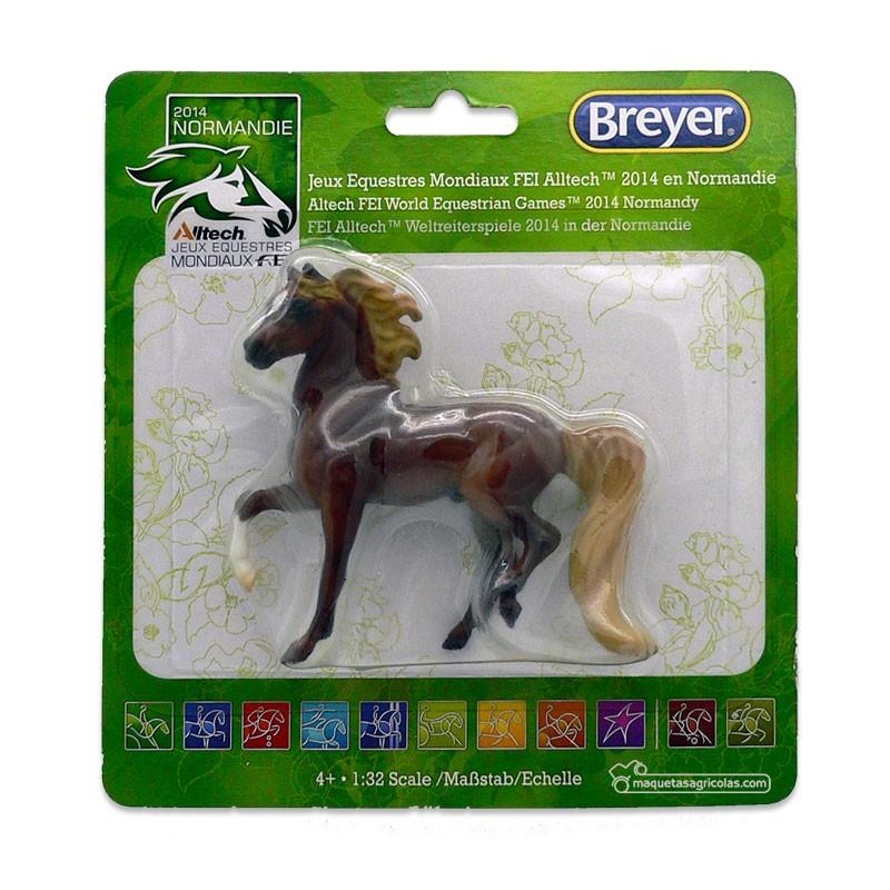 Caballo marrón Chestnut - Miniatura 1:32 - Breyer 9162