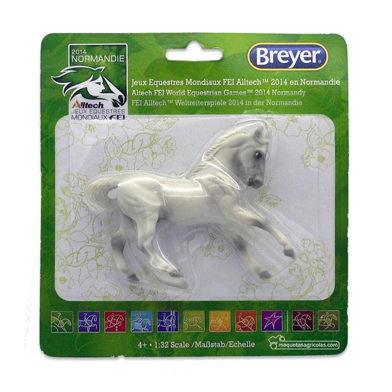 Caballo gris - Miniatura 1:32 - Breyer 9161