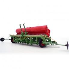 Sembradora de cereal Nodet Gougis GC a escala 1:32 de Replicagri Ref: REP012 abierta