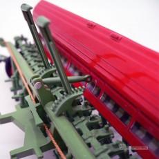 Sembradora de cereal Nodet Gougis GC a escala 1:32 de Replicagri Ref: REP012 detalle