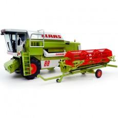 Cosechadora cereal CLAAS 88S - Miniatura 1:32 -  Replicagri REP169 con carro