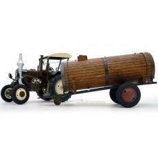 Tractor Lanz Bulldog con techo y cuba de estiércol - Miniatura 1:32 - Schuco 450769900 desmontado