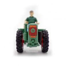 Motocultor con carro y conductor - *Ed. limitada - Miniatura 1:32 - Schuco 89520 frontal