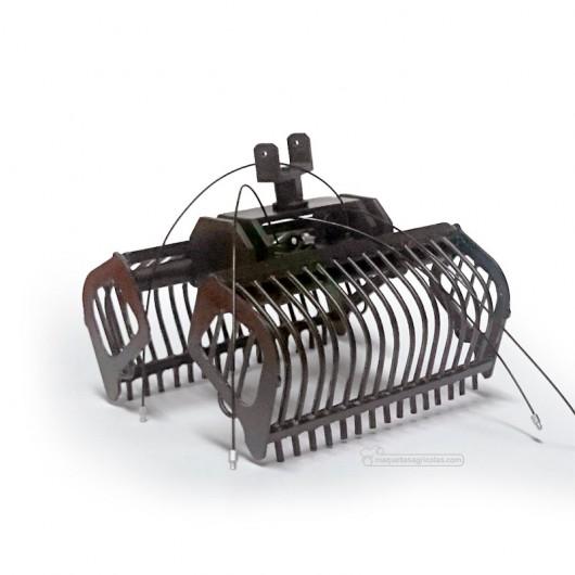 Cazo de varillas negro montado - Miniaturas 1:32 - Artisan 03213N