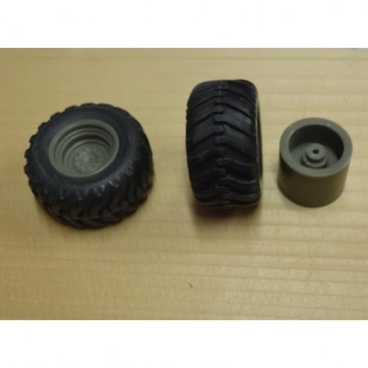 Par de ruedas de remolque 05 - Miniaturas 1:32 - Artisan 04256