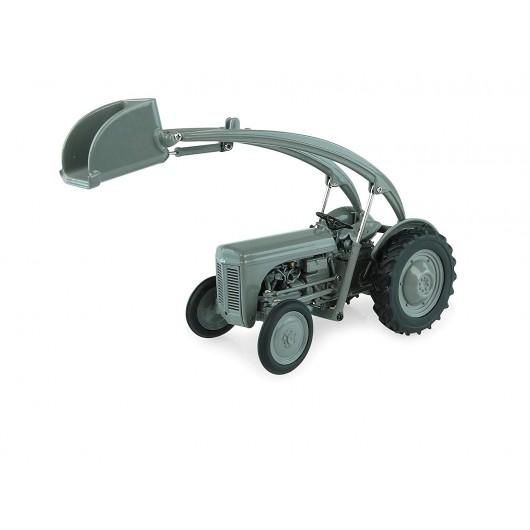 Tractor Massey Ferguson TEA20 con pala cargadora - Miniatura 1:32 - UH 5247