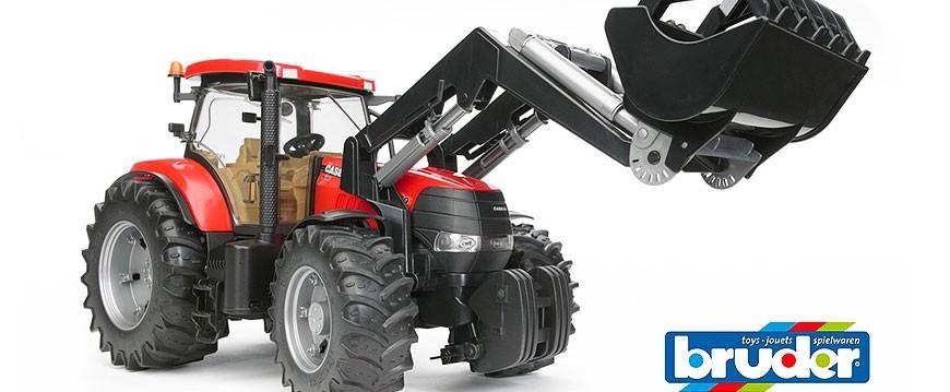 Sección de la marca de juguetes Bruder, venta para España y Portugal