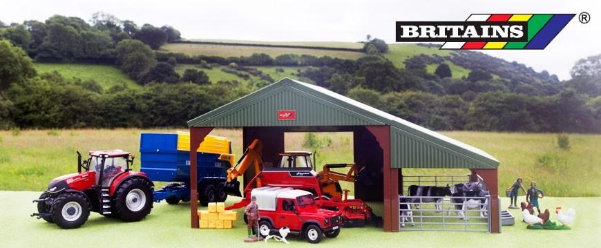 Selección de miniaturas a diferentes escalas del fabricante Britains