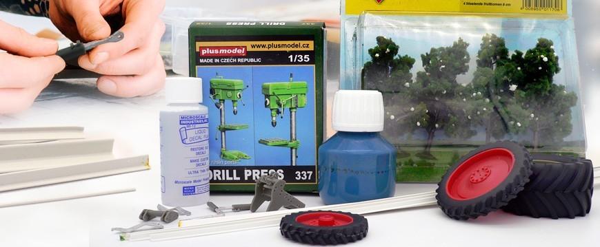 Amplio stock de productos para los modelistas y creadores de dioramas