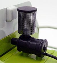 Detalle del filtro del aire