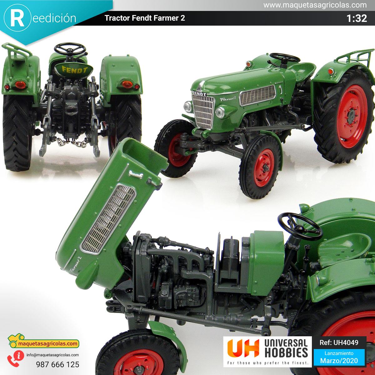 Reedición del Fendt Farmer 2 Ref: UH4049