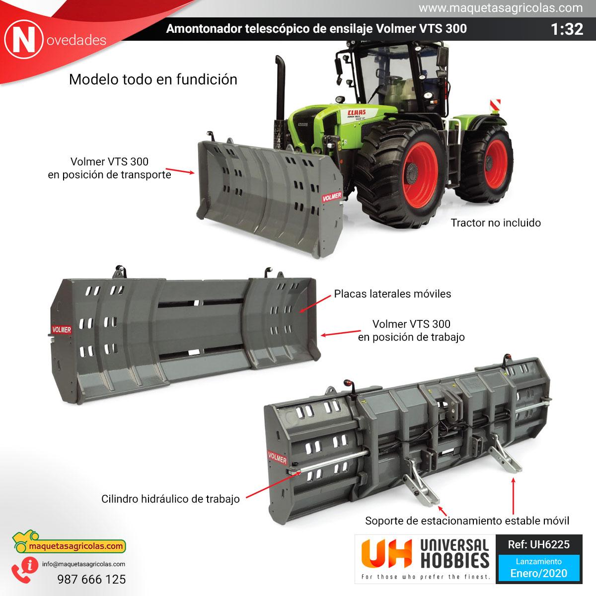 Amontanador Volmer VTS 300 de Universal Hobbies