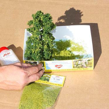 Modificación del follaje de los árboles finalizada.