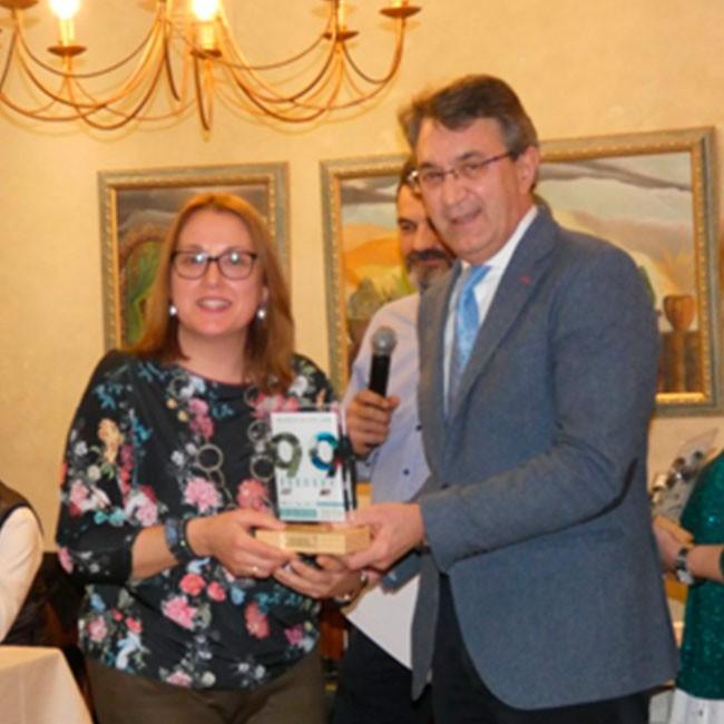 Premio a la Mejor Presentación del Stand en la Feria de Febrero de Valencia de Don Juan