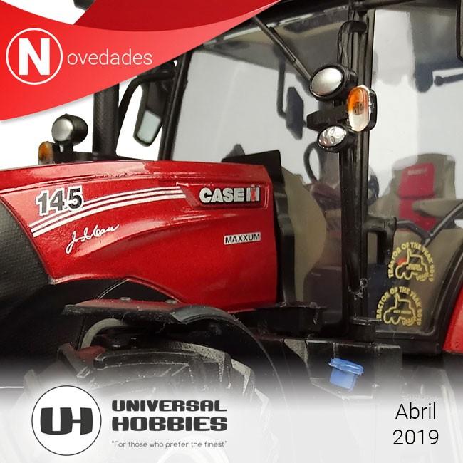 Case IH Maxxum 145 Multicontroller Edición tractor del año 2019, novedad de UH para la primavera.