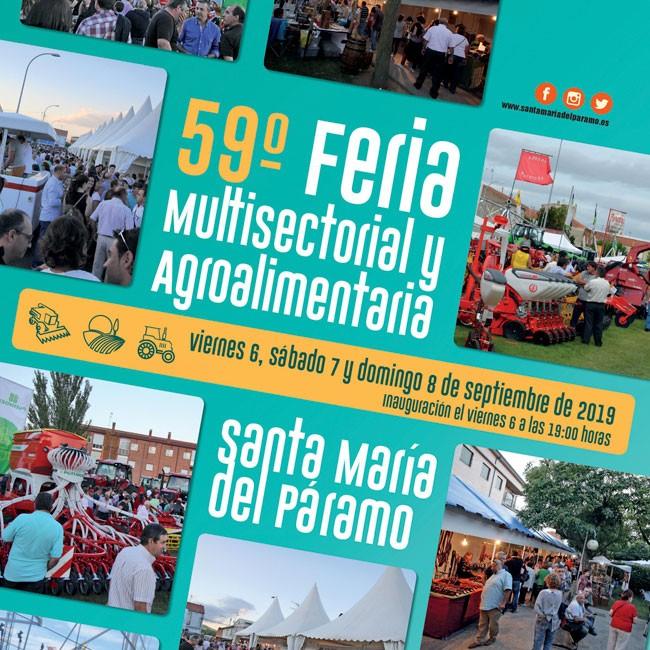 Maquetas agrícolas en la 59º Feria Multisectorial y Agroalimentaria de Santa María del Páramo
