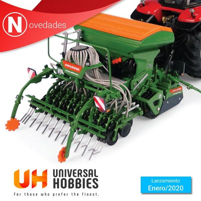 Nueva sembradora Amazone Centaya 3000 Super + Compactador T-Pack Ref: UH5384