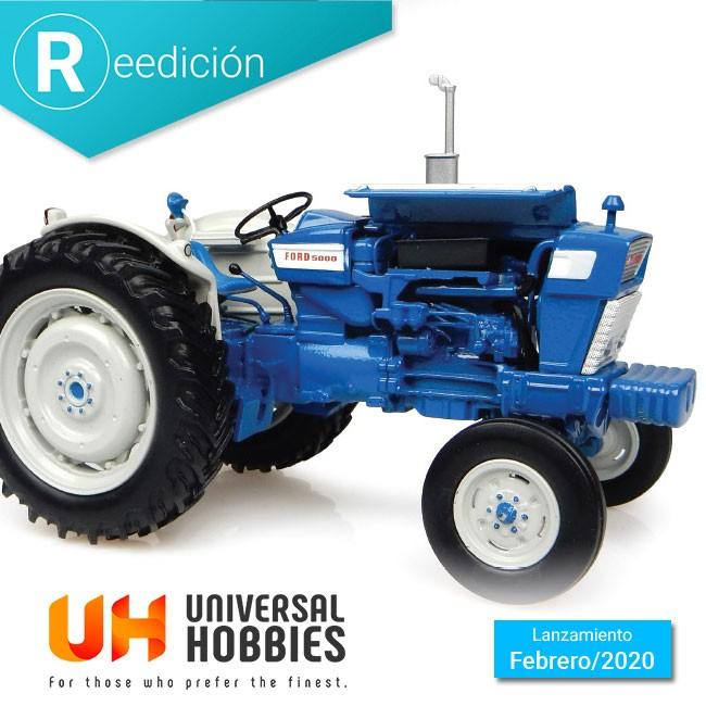 Universal Hobbies reedita el clásico tractor Ford 5000 en escala 1:32