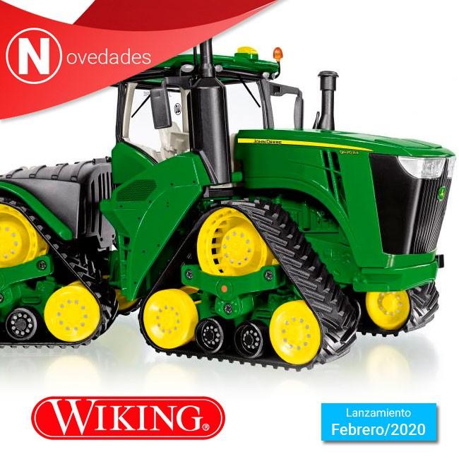 Tractor de orugas John Deere 9620RX, la poderosa sorpresa de Wiking para Febrero.