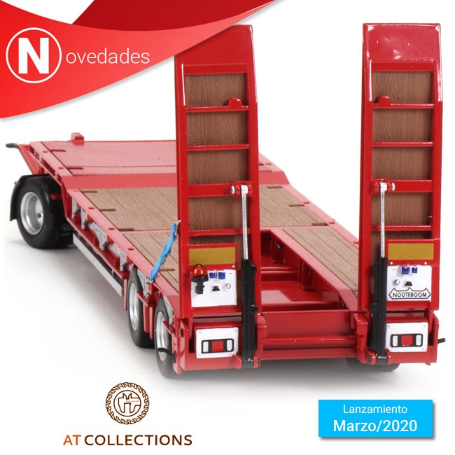 AT-Collections anuncia el lanzamiento inmediato de la plataforma de Nooteboom ASDV-40-22