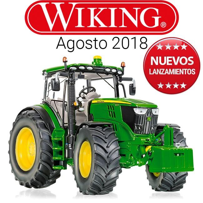 Novedades de Wiking a escala 1:32 para agosto