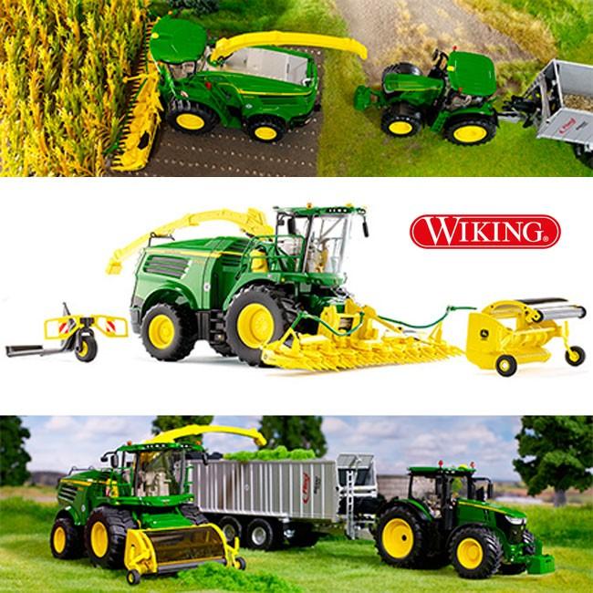 John Deere 8500i la nueva cosechadora de forraje de Wiking