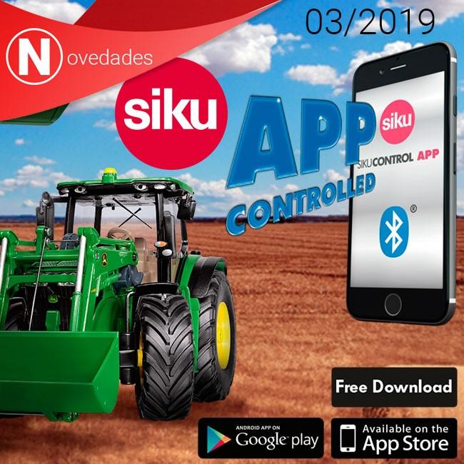 Siku imcorpora el control intuitivo con smartphone a su nueva línea de RC