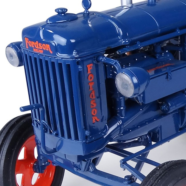 Datos curiosos del Tractor Fordson E27N