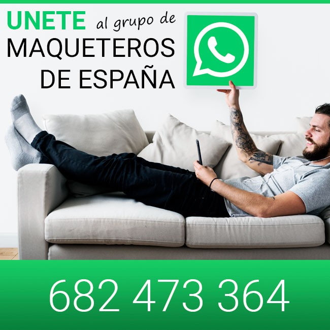 Únete a nuestro grupo de WhatsApp Maqueteros de España