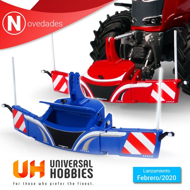 Universal Hobbies imcorpora en febrero 2 nuevos parachoques de seguridad de Tractor Bumper a su extenso catálogo