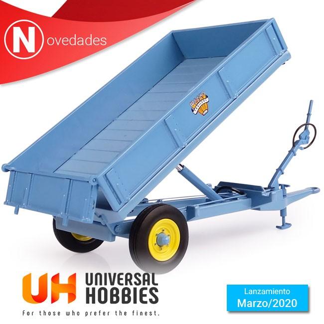Universal Hobbies nos ofrece para marzo el popular remolque polivalente Weeks de 3,5 toneladas