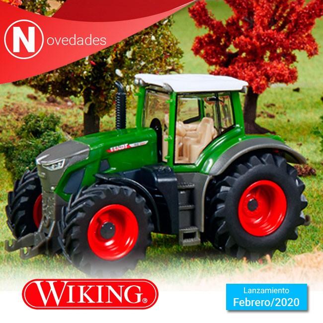 Wiking incorpora la nueva generación de tractores de gran potencia a la escala 1:87 como el Fendt 942 Vario