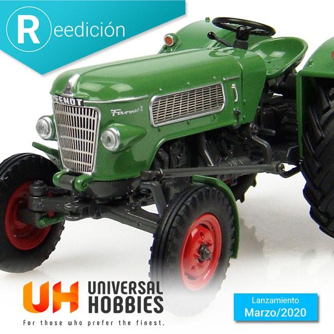 Universal Hobbies reedita de nuevo el tractor Farmer 2 de Fendt