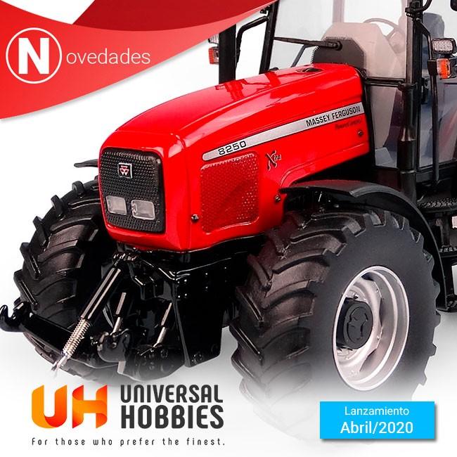 Universal Hobbies nos presenta el nuevo Massey Ferguson 8250 Xtra